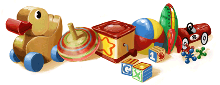 Google Logo: Children's Day in South Korea