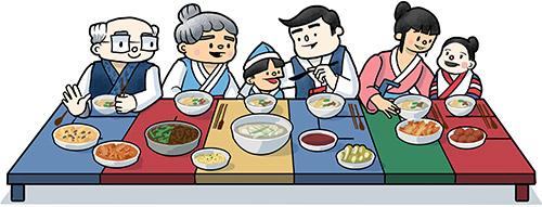 설날 - Lunar New Year 2014 : Korea